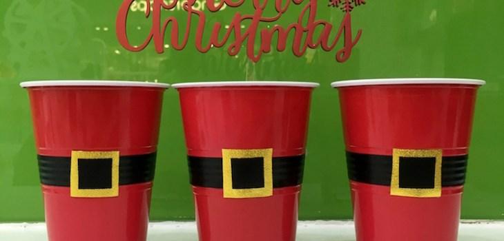 How to Make DIY Santa Cups