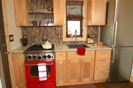 simple kitchen design for very small house 5