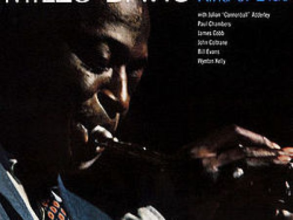 Miles Davis Kind Of Blue Vinyl Album Cover