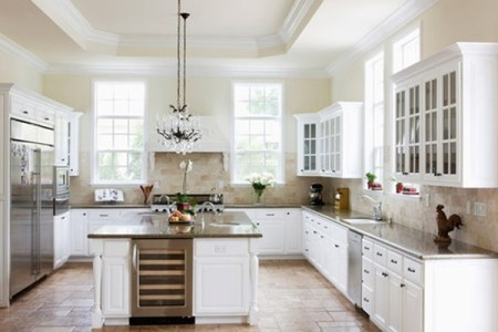 cool and minimalist white kitchen ideas