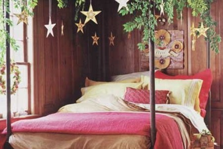 26 inspiring christmas bedroom decorating ideas