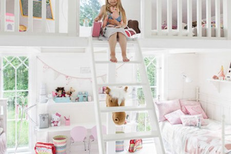 cute bedrooms for two little girl