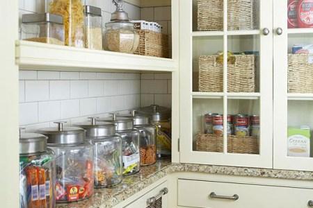 vintage kitchen ization ideas