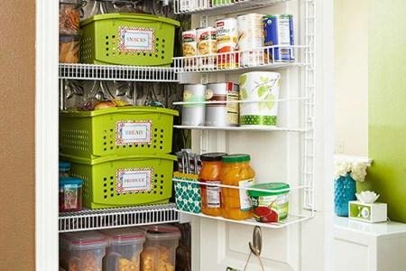small kitchen pantry storage ideas