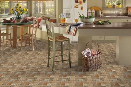 kitchen floor tile designs by armstrong lancelot cinnabar