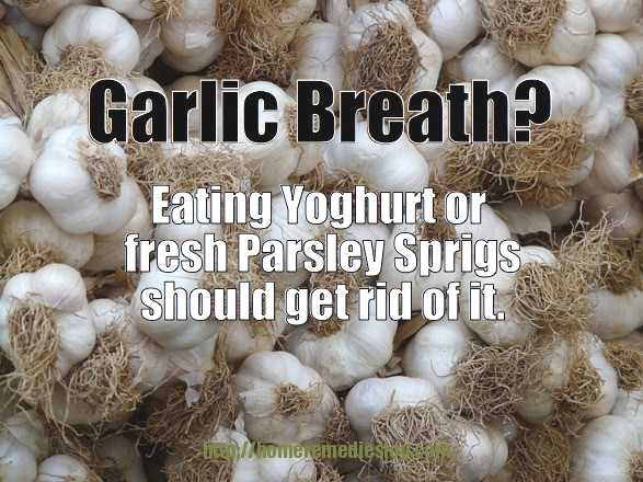 Do You Know How To get Rid of Garlic Breath?