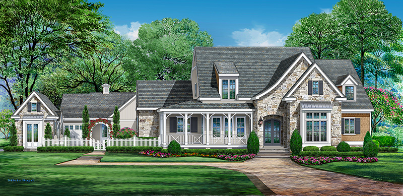Southern living showcase home spring 2017 morning star for Southern maryland home builders