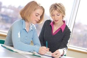 Teenager&Teacher