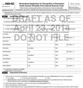 IRS Proposes Form 1023-EZ | HomeschoolCPA.com