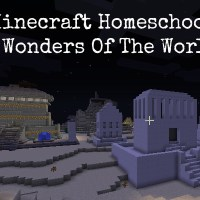 What We Think of Minecraft Homeschool. Seven Wonders of the World