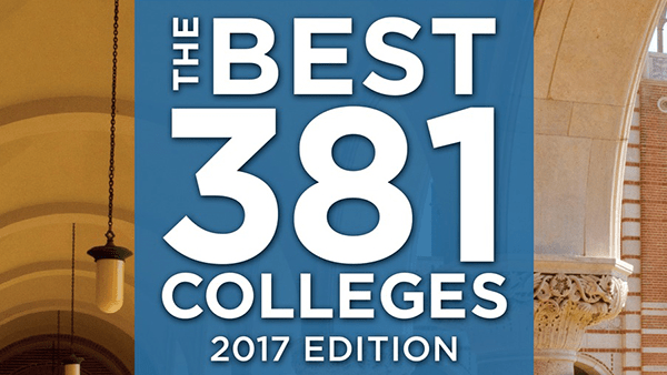 The Best Colleges: 2017 Edition