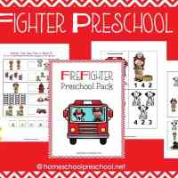 Free Fireman Printable for Preschool