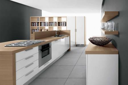 modern minimalist kitchen sketch in 3d version designed by home de kitchen design tool