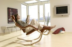 Splendent Curved Wooden Legs Frame Withorange Fibber Material Living Chairs Reading Chairs Reading That Give You