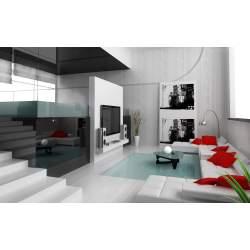 Smartly Stairs Tv Sofas Pillows Rug Glass Table Luxury Interior Home Homesfeed Interior Home Ideas S House Interior Design S Sri Lanka
