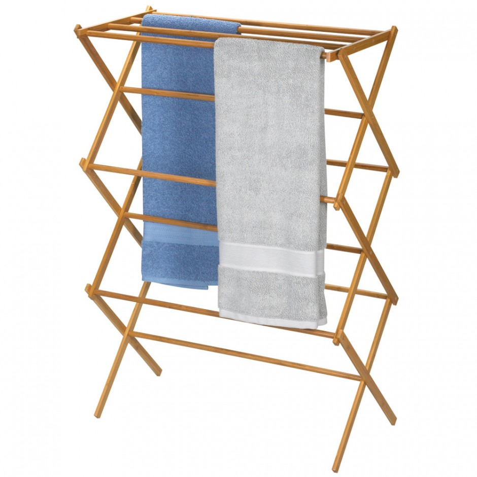 Fullsize Of Wooden Clothes Drying Rack
