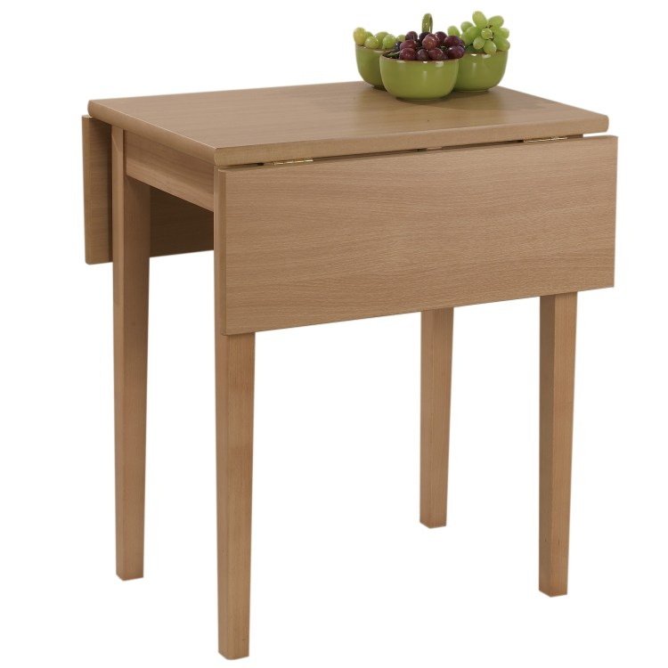 Drop leaf tables for small spaces homesfeed for Ikea compact dining table