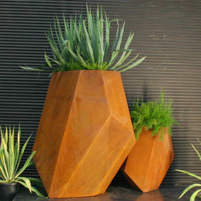 Large Of Corten Steel Planters