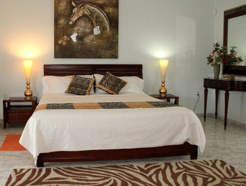 ... Simple Safari Bedroom Decorating Idea With Ze Themed Pillowcases And Ze  Skin Theme Bedroom Rug ...