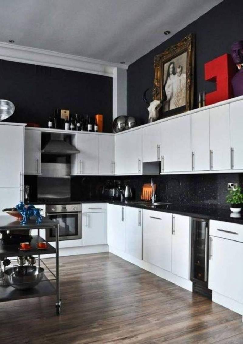 Excellent Kitchen Decor To Feed Exclusive A Black Portable Kitchen Black Appliance Passion Kitchen Decor Wooden