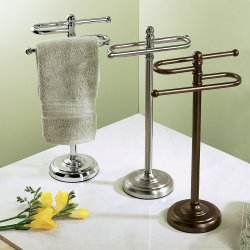 Small Crop Of Towel Rack Stand