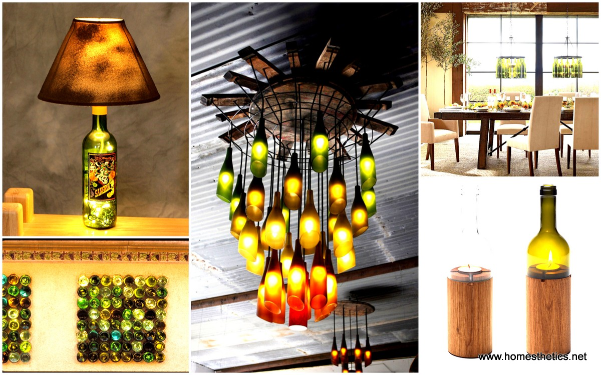 27 ideas of how to recycle wine bottles into pieces of art - Creative glass painting ideas ...