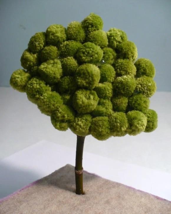 Cute  Pom-Pom Crafts and Ideas-homesthetics (1)