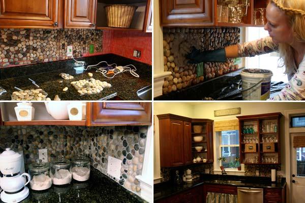 24 Cheap DIY Kitchen Backsplash Ideas and Tutorials You ...