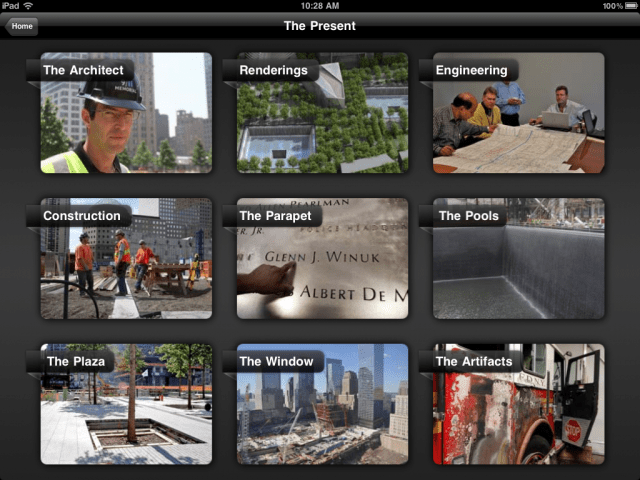 The 911 Memorial: Past, Present and Future--The Present