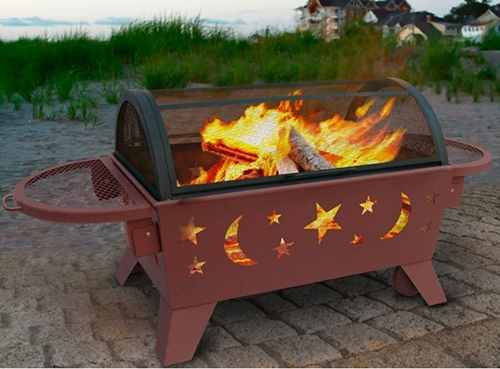 Northern Lights XT Stars & Moons Fire Pit