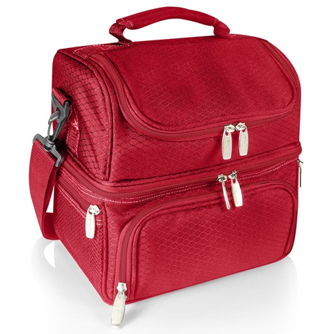 Pranzo Insulated Lunch Bag Red