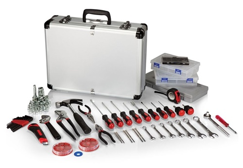 101 Piece Tool Kit Aluminum Carrying Case Set
