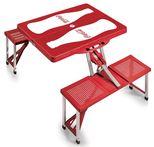 Coca-Cola Portable Picnic Table with Seats