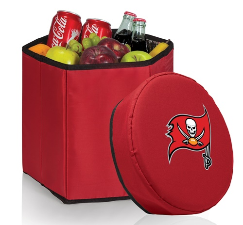 Tampa Bay Buccaneers Bongo Cooler Red