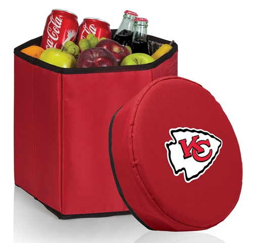 Kansas City Chiefs Bongo Cooler Red