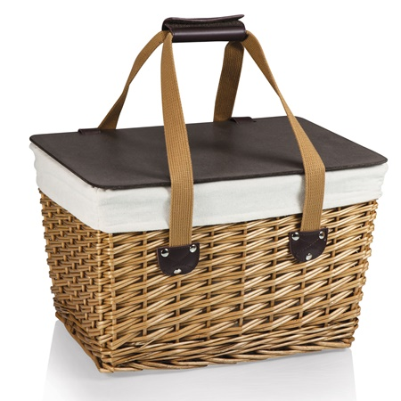 Canasta Empty Willow Picnic Basket