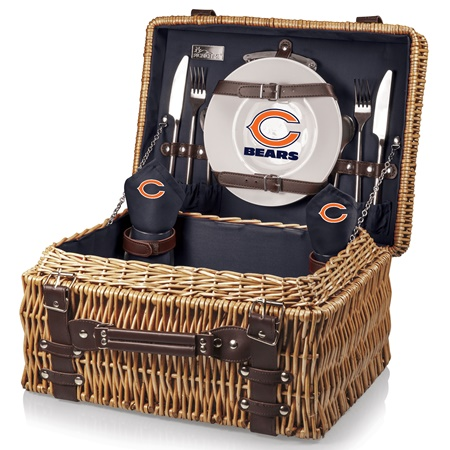 Chicago Bears Champion Picnic Basket