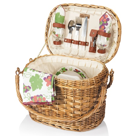 Romance Willow Picnic Basket
