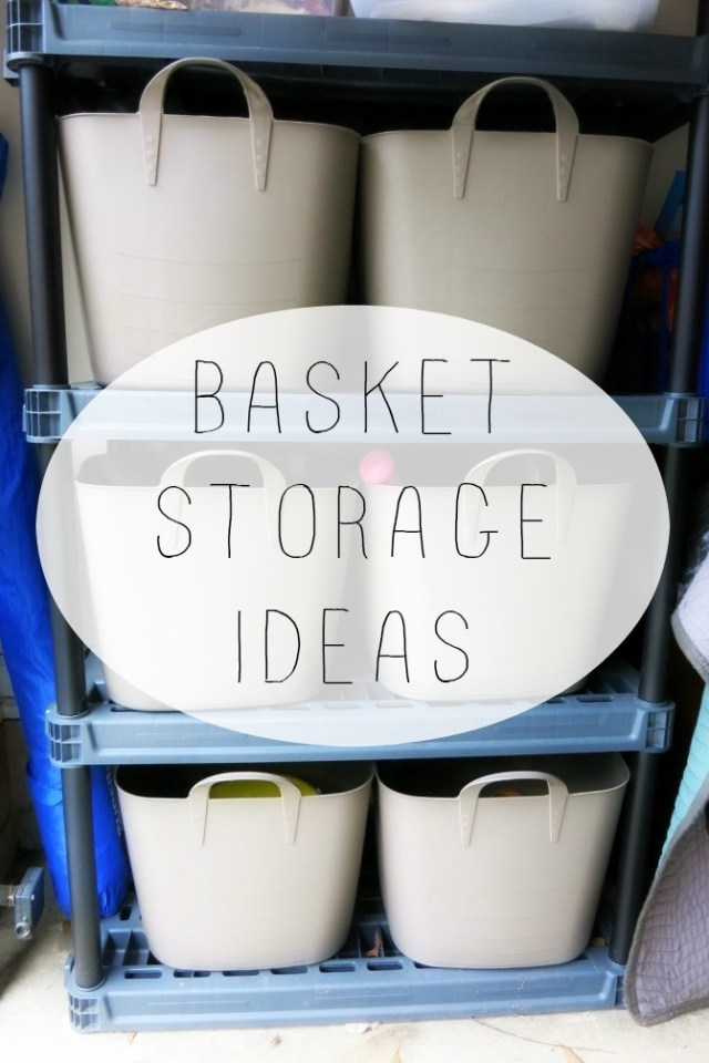 basketstorageideas