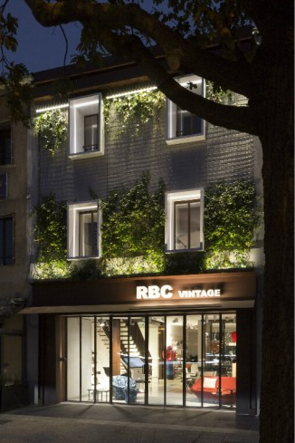 RBC, un showroom très vintage