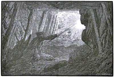 Penitentes de la mina