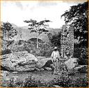 Copan Ruins in the 19th century before its discovery