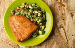 Small Of What Goes Good With Salmon