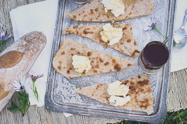 Fresh Cream with Bread & Honey-9