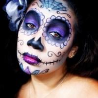 HALLOWEEN MAKEUP TUTORIAL: Sugar Skull Makeup