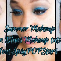 SUMMER MAKEUP - Ocean Blues Featuring PopBeauty for ipsyPOPstars