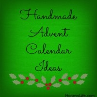 Handmade Advent Calendar Ideas