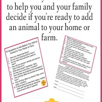 So, You Want to Add an Animal to Your Homestead