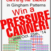 Free Printable Canning Jar Labels & Win a Pressure Canner!