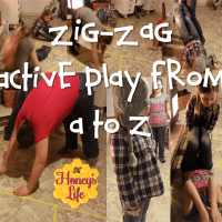 Zig Zag- Gross Motor Activities for toddlers to teens